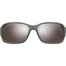 Julbo Montebianco Spectron 4 Sunglasses Matt Black/Lime Green-Brown Flash Silver